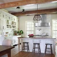 farmhouse kitchen ideas 35 Cozy And Chic Farmhouse Kitchen Décor Ideas - DigsDigs