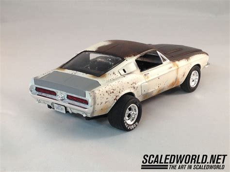 amt  shelby mustang scaledworld