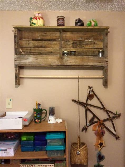 Bathroom Racks And Shelves by Pallet Towel Rack Bathroom Shelves Racks Rustic Wood