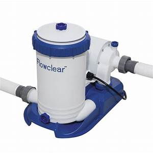 Bestway 2500gal  9 463l  Flowclear Filter Pump For Above Ground Swimming Pool