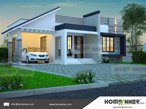 single story simple house elevation   kerala house design simple house plans modern