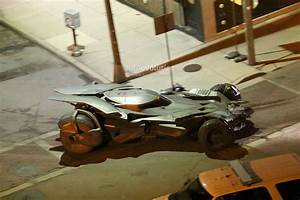 Batmobile from New Batman vs Superman Movie Revealed ...