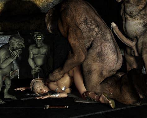 horror monster porno