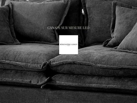 canape boheme canapé en lavé gris anthracite leo version boheme