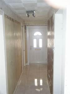 Wallpaper Hallway - Painting & Decorating job in Glasgow