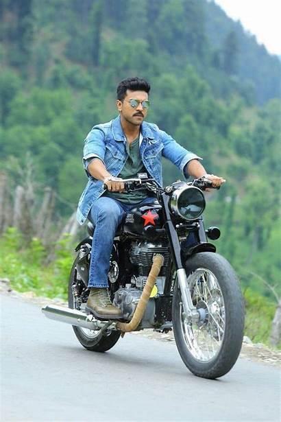 Dhruva Ram Charan Bike Telugu Posters Stills