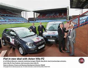 FIAT'S NEW FOOTBALL DEAL SET TO BE AN ASTON THRILLER ...