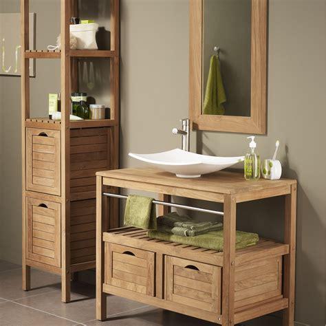 meuble salle de bain sous vasque a poser meuble sous vasque l 90 x h 75 8 x p 50 cm surabaya leroy merlin