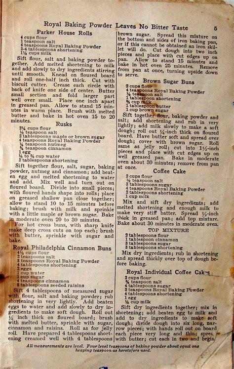 royal baking powder recipe book oldrecipebookcom