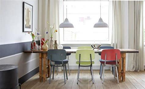 sillas de colores  el comedor paperblog