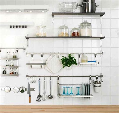 stainless steel solid kitchen shelving 15 dramatic kitchen designs with stainless steel shelves