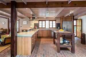 cuisine idee deco cuisine ouverte sur salon With idee deco cuisine ouverte sur salon