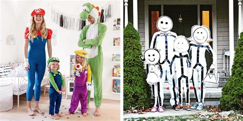 30 Best Family Costume Ideas for Halloween 2019 - Cute