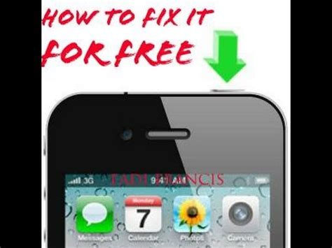 How To Fix Iphone Power Button For Free  Youtube