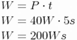 Kilowattstunden Berechnen : elektrische arbeit ~ Themetempest.com Abrechnung