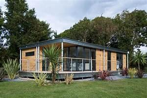 Natural Affordable Modern Prefab Log Cabins Architecture