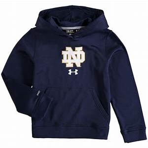 Under Armour Notre Dame Fighting Irish Youth Navy Armour