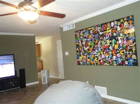 Lego Wall Mural Is Full Of Gaming Icons Randommization