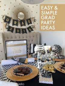 easy simple graduation party ideas tatertots and jello