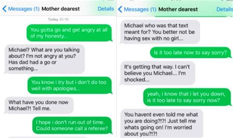 This Boy Pranks His Mom Texting Lyrics Of 'sorry' By