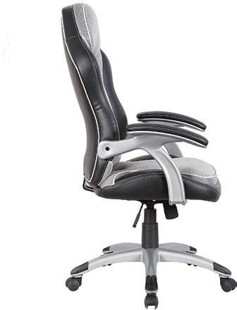 techni mobili race chair techni mobili rta 3203 bk gry high back executive sport
