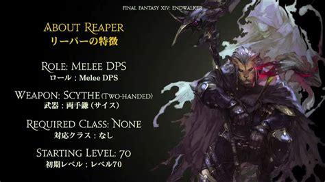 Final Fantasy XIV: Endwalker Expansion Reveals New DPS Job ...