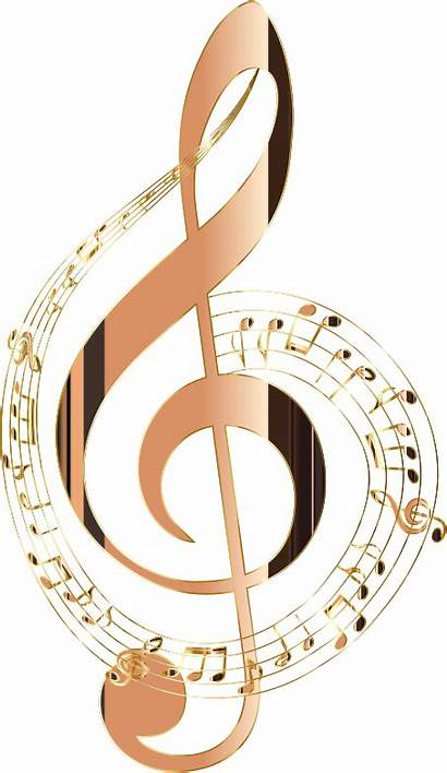 Notes Musical Background Note Clipart Shiny Transparent