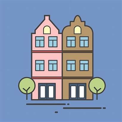 Apartment Illustration Building Vector Condo Vectors Freepik