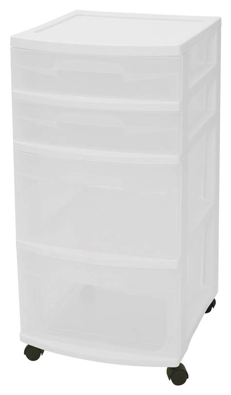 Sterilite Storage Cabinet 4 Drawer by Organization And Storage Ideas Susan S Musings