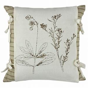 botanical print pillow cover 20quot With botanical print pillows