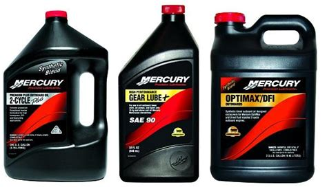 Mercury Precision Lubricants Are Ideal For Your Engine