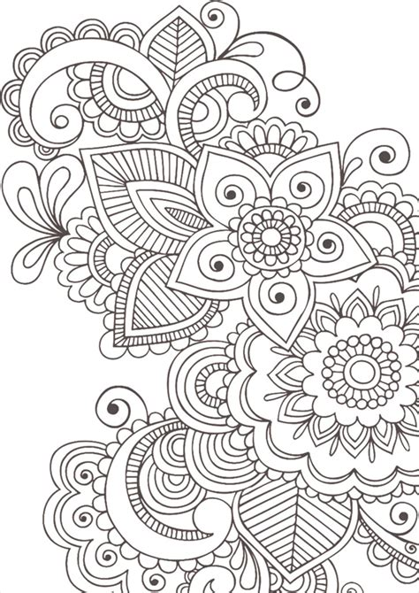 coloring pages anti stress  children    print