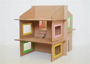Objet En Carton Facile A Faire : 5 maisons de poup es faire soi m me ~ Melissatoandfro.com Idées de Décoration