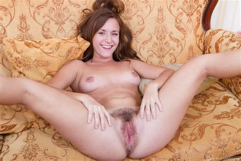 Era Is Showing Off Her Hot Hairy Pussy In Her Home