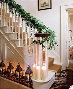 Folder of Ideas 10th day of Christmas Ivy stairs
