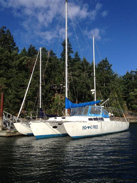 Trimaran Companies by The Multihull Company Used Trimarans For Sale