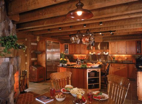 Home And Interiors by Log Home Interiors