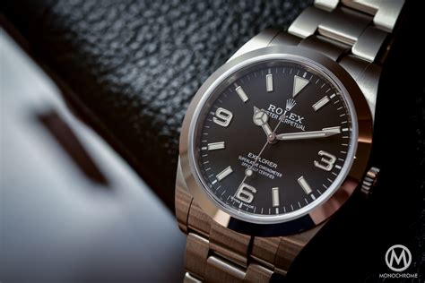 Rolex Explorer 36mm Introducing The 2016 Rolex Explorer 214270 With New Hands