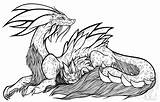 Mizutsune Monster Hunter Coloring Piece Wyvern Mama Another Too Plan Couldn Myself Adorable Damn Gems sketch template