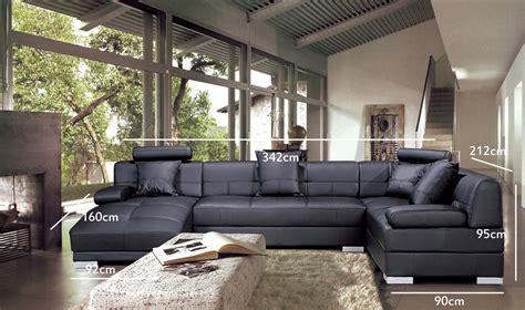canapé d angle marocain deco in canape d angle capitonne cuir noir