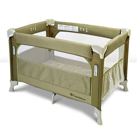 foundations sleep fresh elite portable crib play yard 1556287 nurzery