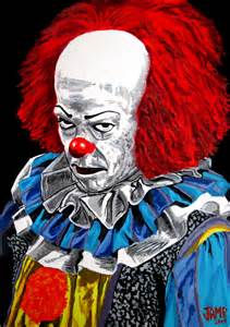 Stephen King It Pennywise Art