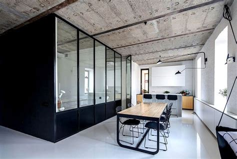 2 Apartments With Design Elements by Moscow Apartment By Crosby Studios S T U D I O Loft