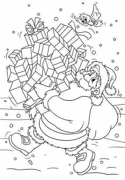 Coloring Pages Santa Claus Za Bojanke Printable