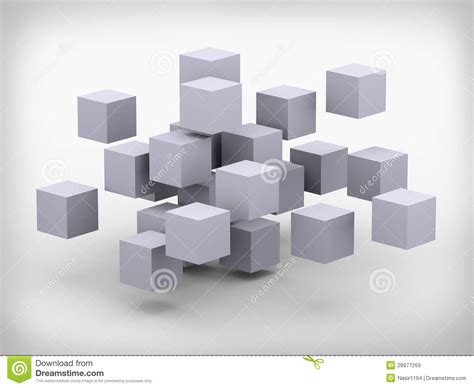 design a cube 3d abstract cubes design royalty free stock images image
