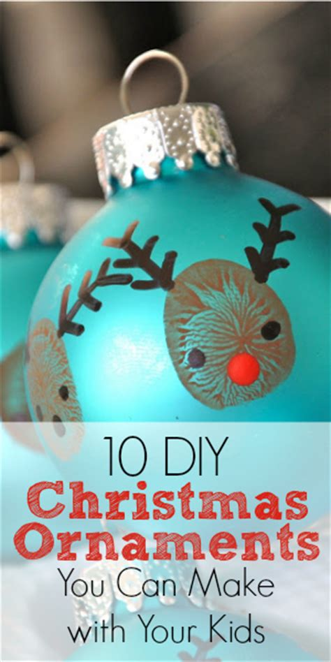ornament craft for 10 year old 10 diy ornaments you can make with your blissfully domestic