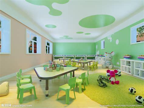 幼儿园装修效果图设计图 室内设计 环境设计 设计图库 昵图网nipic com