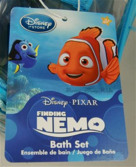 finding nemo bath set new disney store finding nemo 5 pc bath toys set bruce