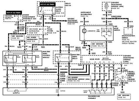 95 Ford Ranger Wiring Diagram by 95 Later Ranger 4x4 Wiring Diagram Wanted The Ranger