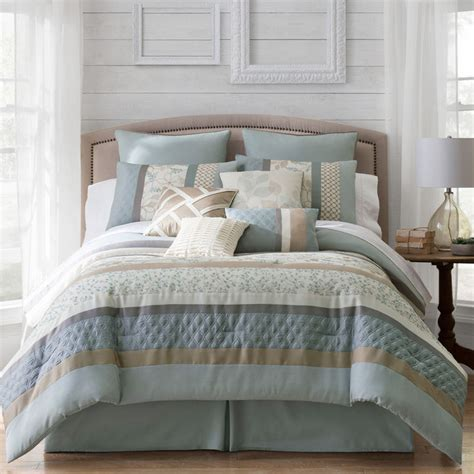 jcpenney home collection comforter jcpenney home expressionstm napa 10 pc comforter set